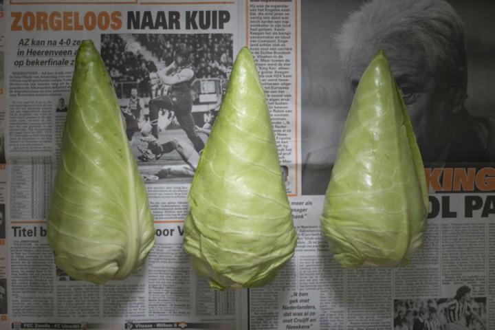 Nīderlande - 6,27 dolāri. Trīs kāposti