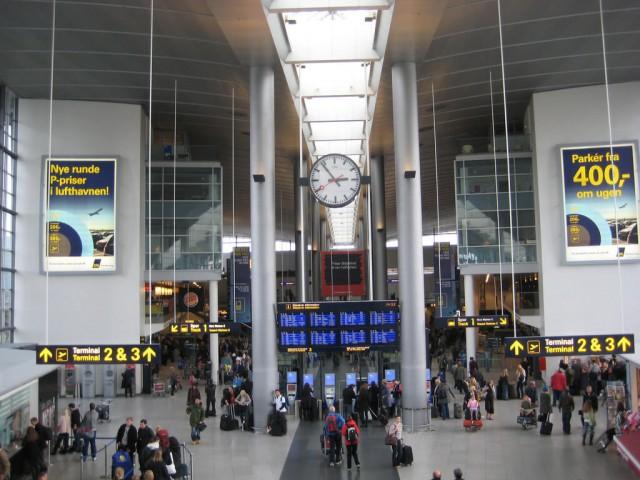 6. vieta - Kopenhāgenas lidosta (Copenhagen Airport (CPH)) -- Pasažieru skaits gadā: 24,1 miljons
