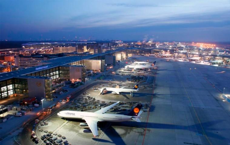 5. vieta - Frankfurtes lidosta (Frankfurt Airport (FRA)) -- Pasažieru skaits gadā: 58 miljoni