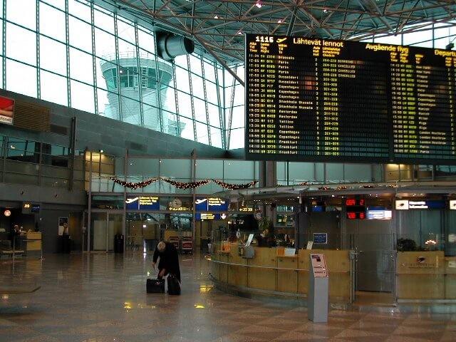 7. vieta - Helsinku lidosta (Helsinki Airport (HEL)) -- Pasažieru skaits gadā: 15,3 miljoni
