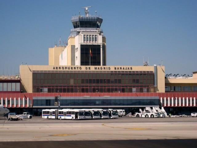 9. vieta - Madrides - Barajas lidosta (Madrid-Barajas International Airport (MAD)) -- Pasažieru skaits gadā: 39,7 miljoni