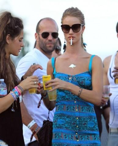 Victoria's Secret modele Rozija Hantingtona-Vitlija