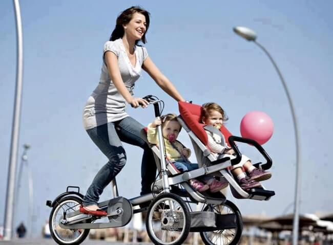 Šāds divritenis - ratiņi māmiņai ļaus saglabāt slaidu figūru