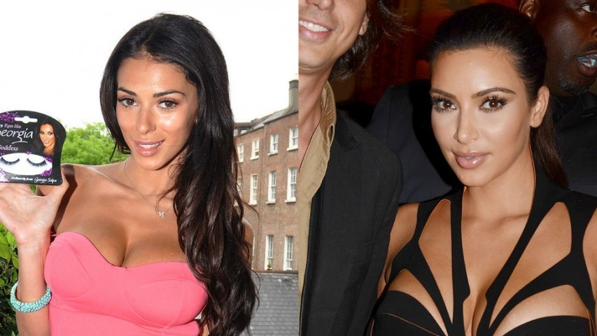 """Kaislīga Kimas un realitātes šovu fane. Džordžijai Salpai un Kimai ir teju vienādas pozas fotogrāfijās, un abas vienādi kaislīgi dievina realitātes šovus. Džordžija pat ir piedalījusies projektā """"Celebrity Big Brother"""", taisnība gan – tika no tā izmesta jau kā trešā. Šķiet, tikai ar līdzību Kimai vien ir par maz, lai tevi iemīlētu visa pasaule."""