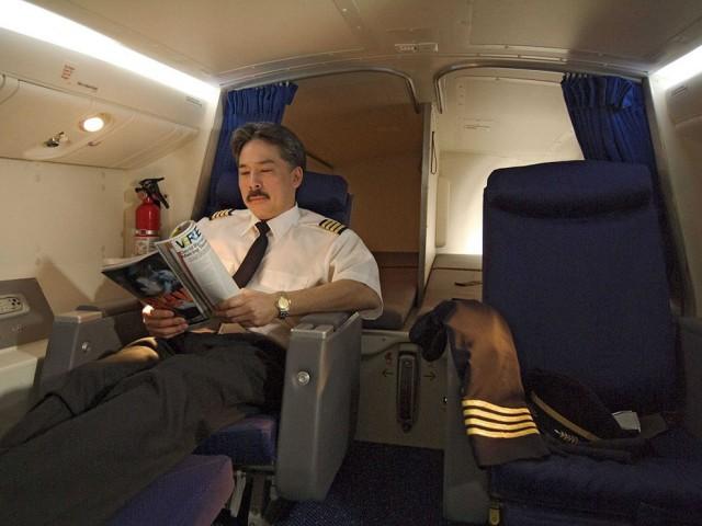 Šeit ir diezgan mājīgi, ja var ticēt Boeing oficiālajām fotogrāfijām
