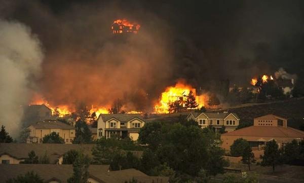 Biežie meža ugunsgrēki Kolorado arī ir globālās sasilšanas sekas
