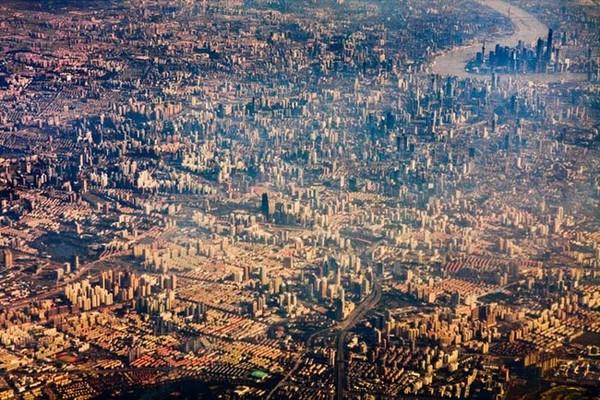 Skats diezgan baiss: lielpilsēta, kurā mīt 24 miljoni iedzīvotāju – Šanhaja, Ķīna