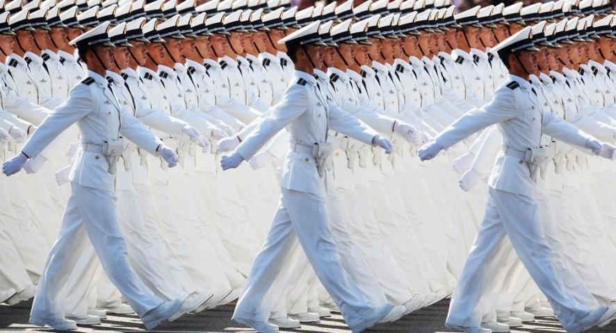 Militārā parāde Korejā