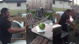 kā sagriezt arbūzu