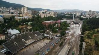 plūdi Tbilisi