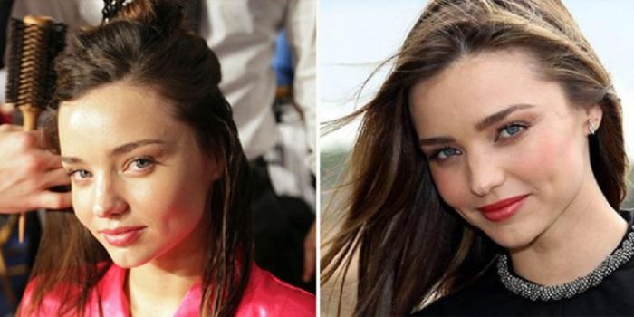 Modele un aktrise Miranda Kera (Miranda Kerr)