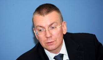 Latvijas un Ukrainas ārlietu ministru preses konference