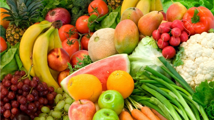 IETEICAMS: Augļi un dārzeņi  (satur daudz antioksidantu, kas palēnina rūgšanas procesu, šķiedrvielas  (apgrūtina fermentu rašanos un palēnina tauku un ogļhidrātu uzsūkšanos)