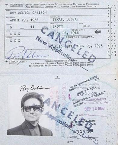 """Rojs Orbisons jeb Lielais """"O"""", amerikāņu mūziķis, un rokenrola izpildītājs"""
