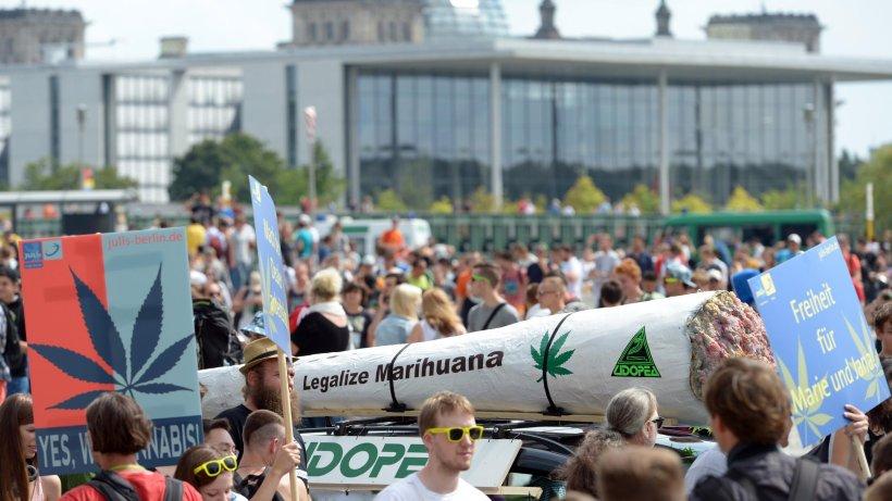 legalizēt marihuānu Berlīne