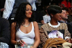 Rihanna vēlas būt uzmanības centrā arī sporta mačos