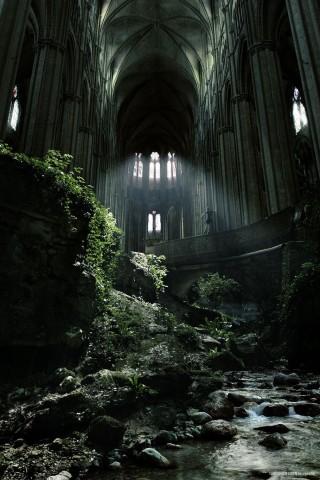 Baznīca St. Etienne, Francija Baisa, bet vienlaikus maģiska vieta.
