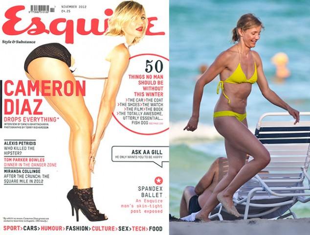 Amerikāņu aktrise un bijusī fotomodele Kamerona Diaza nezina, kas ir liekais svars, taču par to, kas notiek ar sievietes ķermeni pārkāpjot 40 gadu slieksnim, viņai ir zināms.