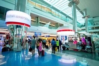 izklaides lidostās