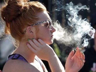 marihuānas smēķētāja