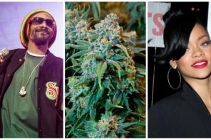 Savus marihuānas brendus veidos Snoop Dogg un Rianna