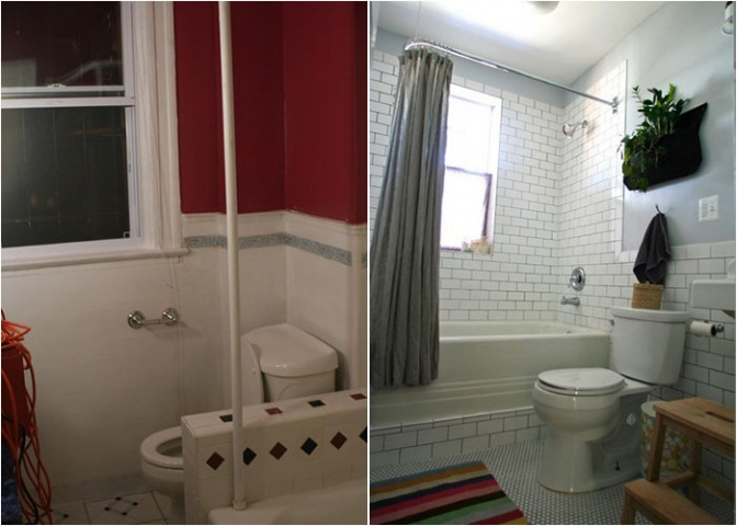 Arī pavisam maza telpa pēc remonta izskatās pavisam citādāk