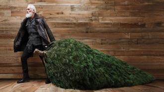 stilīgais Ziemassvētku vecītis