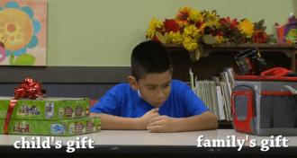 bērniem jāizvēlas dāvana