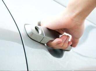 kā atvērt auto durvis