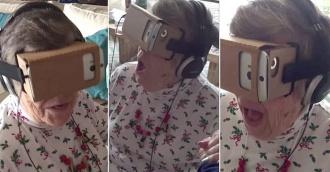 virtuālās realitātes brilles un ome
