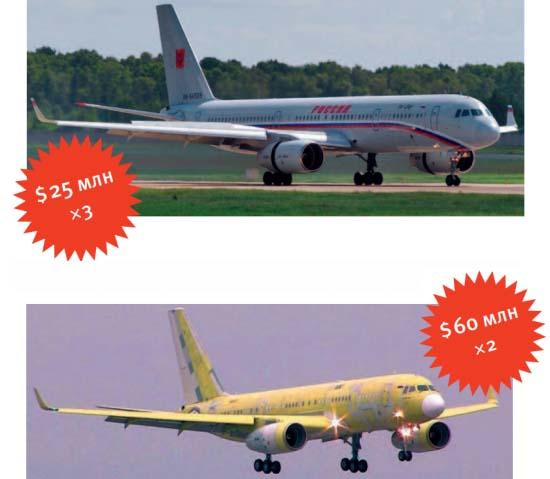 Vladimira Putina lidmašīnas