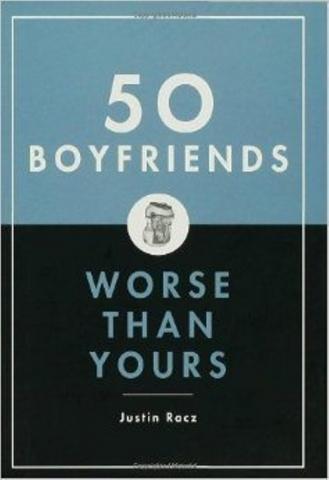 """Grāmata """"50 puiši, kas bija vēl sliktāki par tavu"""""""