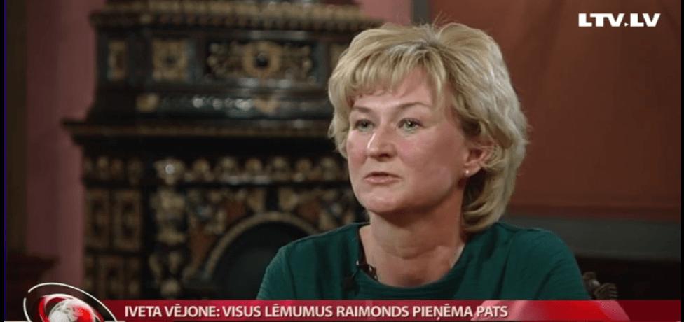 prezidenta Vējoņa kundze
