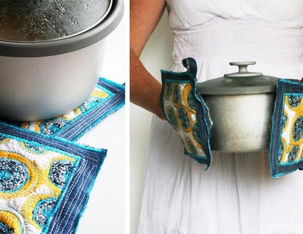 Virtuves cimds no veciem džinsiem kalpos patiešām ilgi