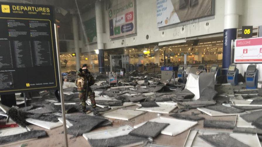 terorakts Briselē
