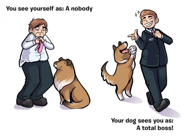 Mēs: Niecība - Suns: Boss!