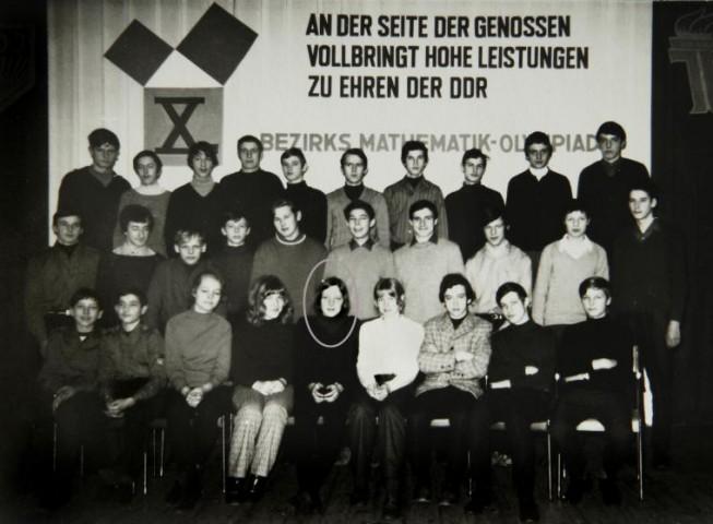Angela matemātikas olimpiādē 1971.gadā
