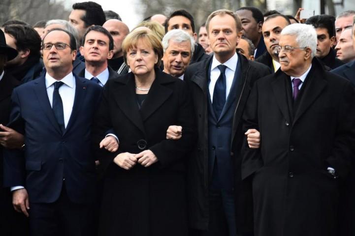 Pēc terorakta Parīzē, 2015.gada 11.janvārī