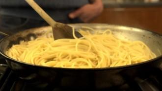 kā pagatavot spageti