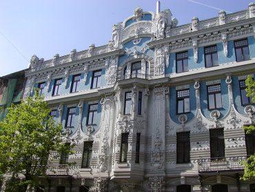 jūgendstila ēku kolekcija