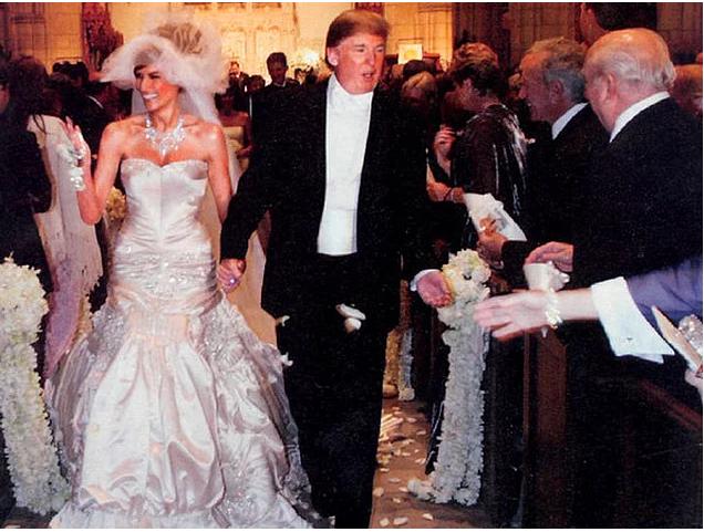 7. Donalds un Melānija apprecējās 2005. gadā.