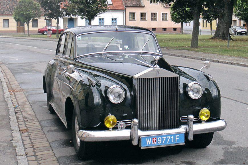 1956. gada Rolls Royce Silver Claud