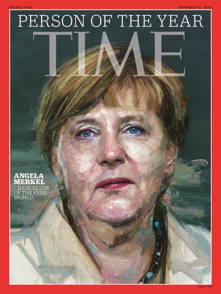 2015.gads - Angela Merkele
