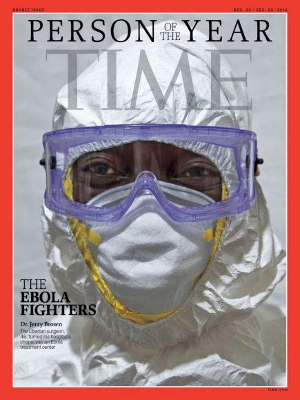 2014.gads -  mediķi, kas pašaizliedzīgi cīnās ar nāvējošo Ebolas vīrusu