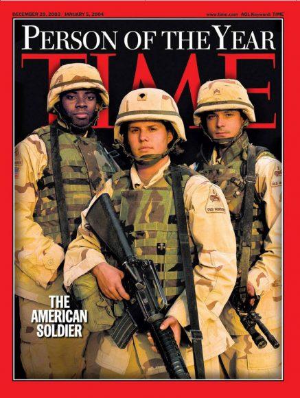 2003.gads - amerikāņu karavīrs