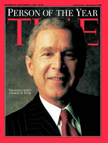 2000.gads - Prezidents Džordžs Bušs