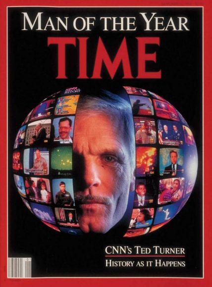 1991.gads - Teds Tērners