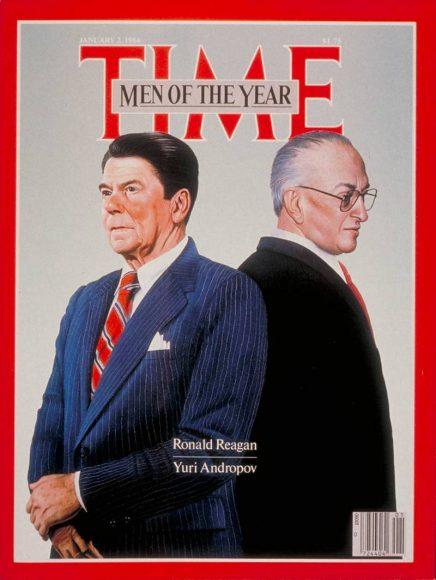 1983.gads  -  Ronalds Reigans un Jurijs Andropovs