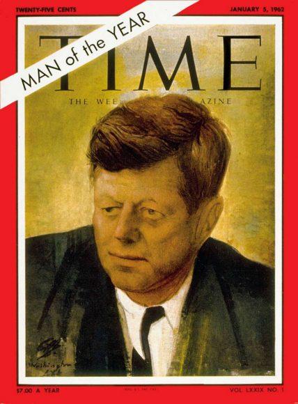 1961.gads - Džons Kenedijs