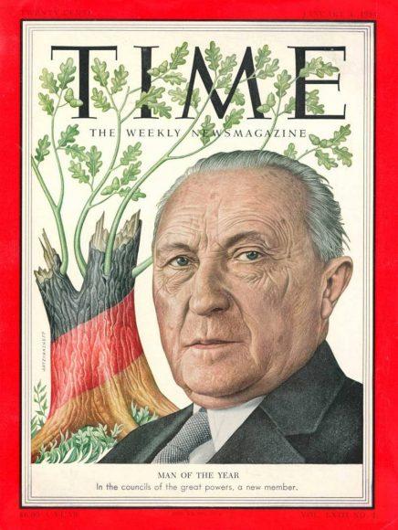 1953.gads  - Konrāds Adenauers